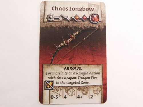 wulfsburg survivor equipment card (chaos longbow)